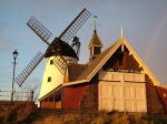 Windmill and Old Lifeboat House